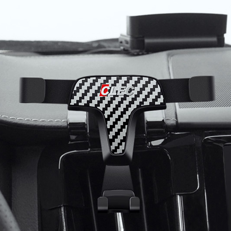 Left Hand Drive Car Holder Clip Mounts For XC60 2019 2018 Car Auto Dashboard Air Vent Mount Holder Bracket For XC60 2018 2019