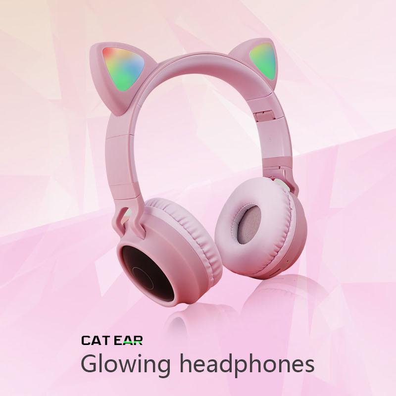 Cat Ear Bluetooth Headphones
