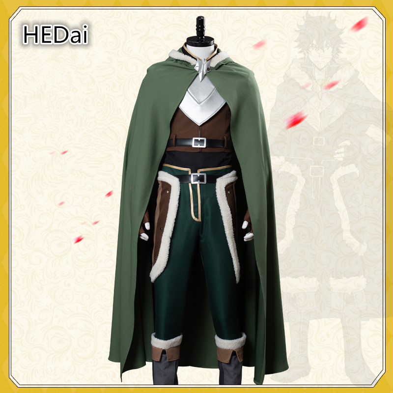 The Rising of the Shield Hero Naofumi Iwatani Cosplay Costume Outfits Unisex Cos