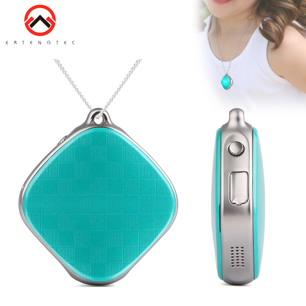 Mini GPS Child GPS Wifi Tracking SOS 5 Days Standby GPS Tracker Children Two Way Talk Geo-fence Voice Monitor Kids Necklace