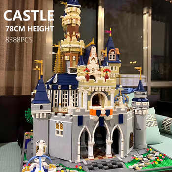16008 16060 Movie Toys The 71043 Magic Castle and 71040 Upgrade Version Cinderella Princess Castle Kids Toys Building Blocks Kit - DISCOUNT ITEM  20% OFF All Category