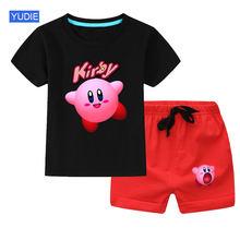 Одежда для мальчиков одежда сна комплекты 2020 Новая летняя