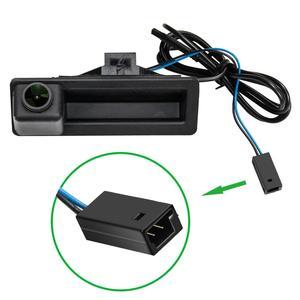 Image 3 - 1280x720p alça Tronco Rear View camera Reversa Backup para BMW X5 X1 X6 E39 E53 E82 E88 E84 E90 E91 E92 E93 E60 E61 E70 E71 E72