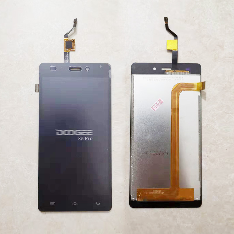 5.0'' For Doogee X5 Touch Screen For DOOGEE X5 Pro X5S Digitizer Panel Front Glass Sensor+LCD Display Assembly Complete