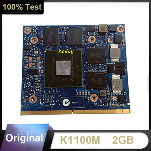 K1100M K 1100M Video Graphic Card N15P-Q1-A2 for HP Elitebook ZBOOK15 Dell M4600 M4700 M4800 Working Perfectly