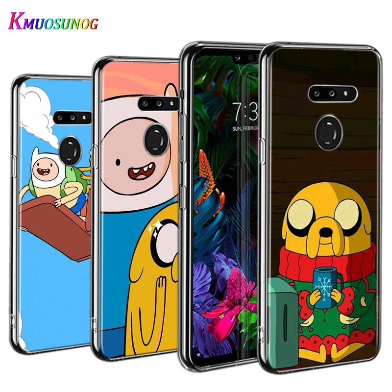 Adventure Time Beemo Jake For LG W30 W10 V50S V50 V40 V30 K50S K40S K30 K20 Q60 Q8 Q7 Q6 G8 G7 G6 Thinq Phone Case