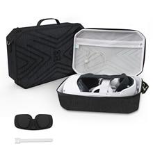 Hard Travel Case for Oculus Quest 2 Controllers Accessories Shockproof EVA Hard Shell Storage Bag with Shoulder Strap