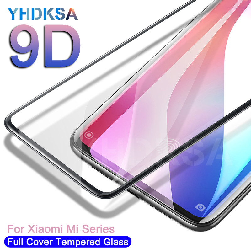 9D Protective <font><b>Glass</b></font> For <font><b>Xiaomi</b></font> <font><b>Mi</b></font> <font><b>9</b></font> SE CC9 CC9E <font><b>Mi</b></font> 8 SE A1 A2 A3 Lite Pocophone F1 Tempered <font><b>Screen</b></font> <font><b>Protector</b></font> <font><b>Glass</b></font> Film Case image