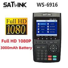 Satlink WS 6916 Satellite Finder HD DVB S2 High Definition Satfinder 6916 3,5 zoll MPEG 2/MPEG 4 DVB S2 WS6916 Sat Finder meter