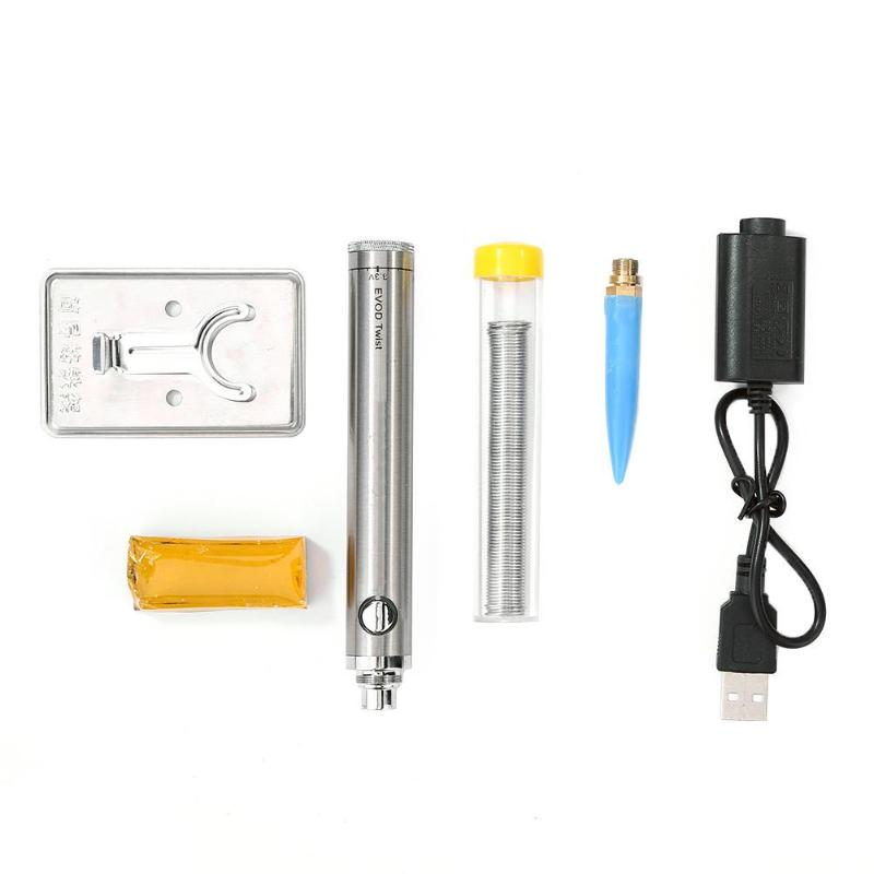 5V 8W Soldering Iron Wireless Charging Soldering Iron Mini Portable Battery Soldering Iron With USB Welding Tools Dropshipping