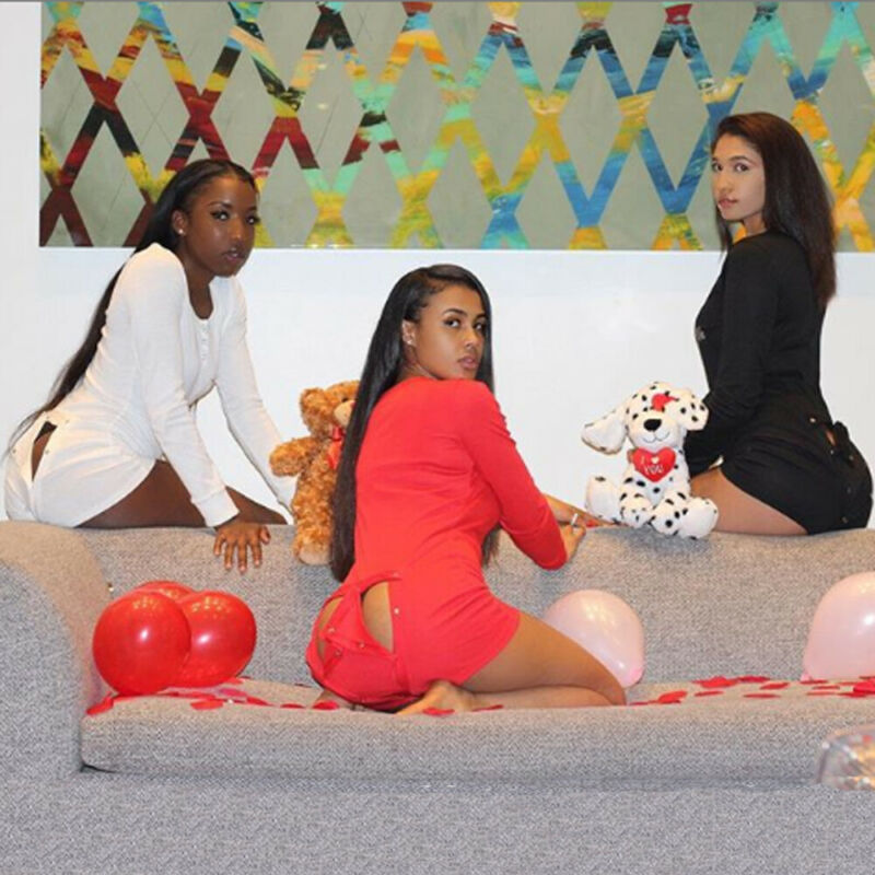 2020 Sexy Women Romper Ladies Bodycon Jumpsuit Sleepwear V-neck Boduycon Button Long Sleeve Leotard Playsuit Bodysuit Home Wear