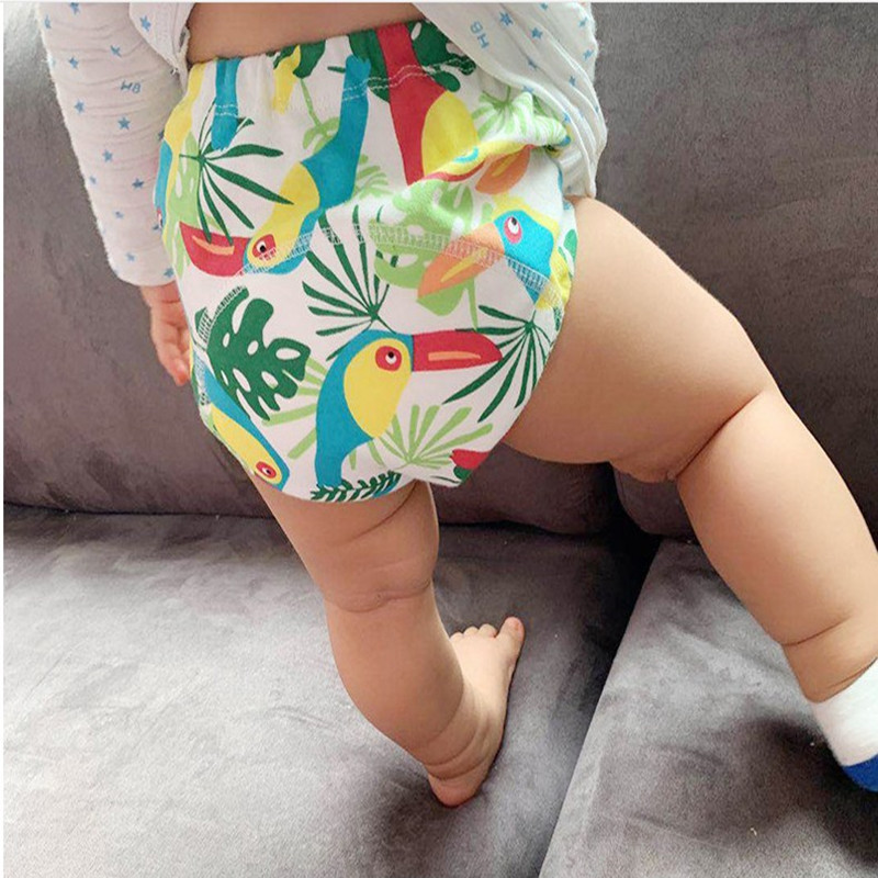 3/PCS Baby Toilet Training Underwear Baby Cotton Yarn Diaper Training Pants Baby Underwear Briefs