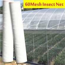 60 Mesh Net Garden Protection Net Mist Net Bird Net Nylon Plastic Net Greenhouse Vegetable Insect Net for Birds Chicken Dog Cat