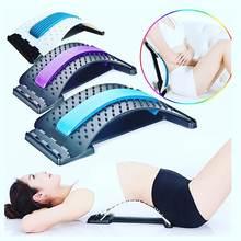 Массажер растяжка для спины домашнее растягивающее устройство