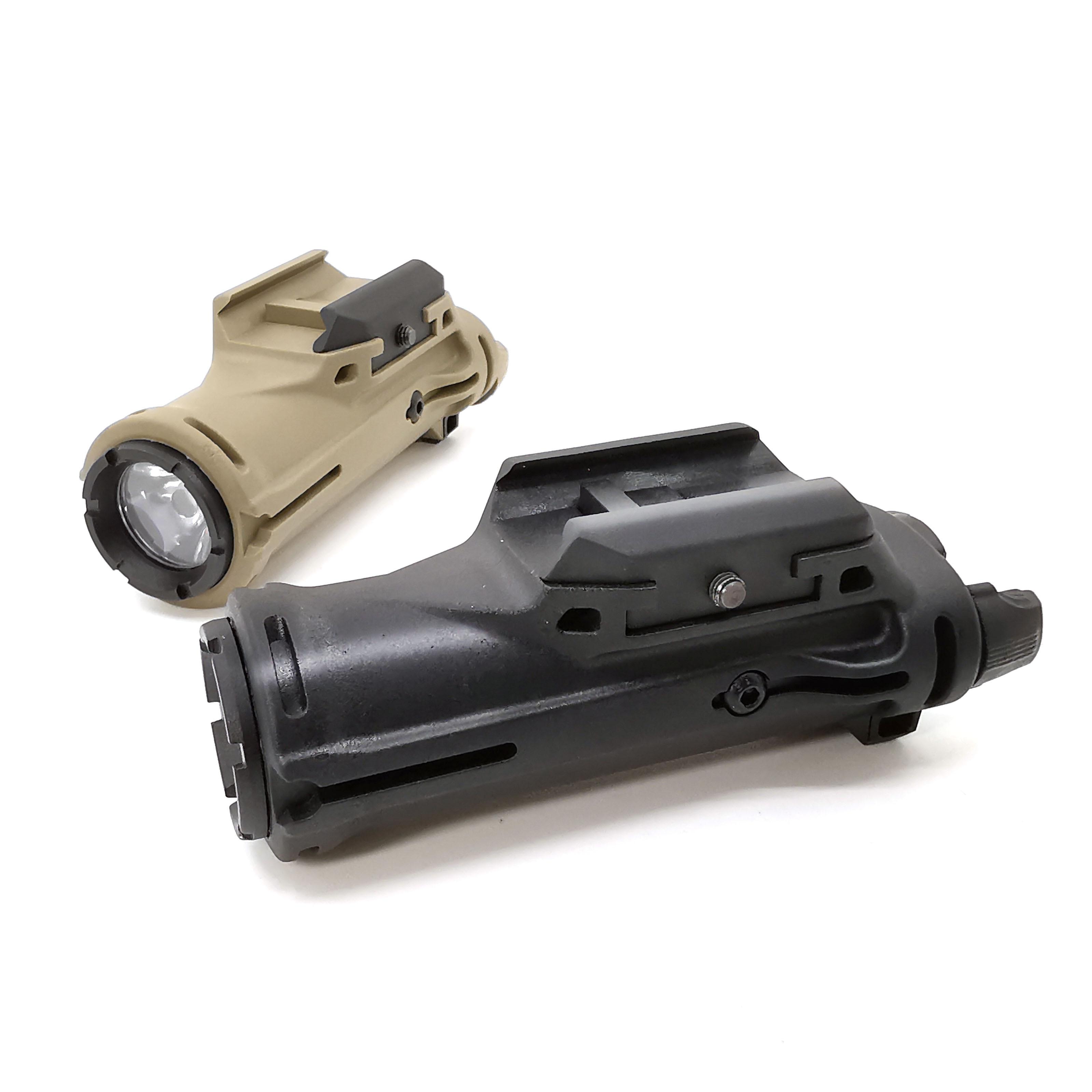 Tactical hunting scope Flashlight XH15 Light Airsoft White LED Brightness Weapon light For Pistol Rifle Picatinny Rail