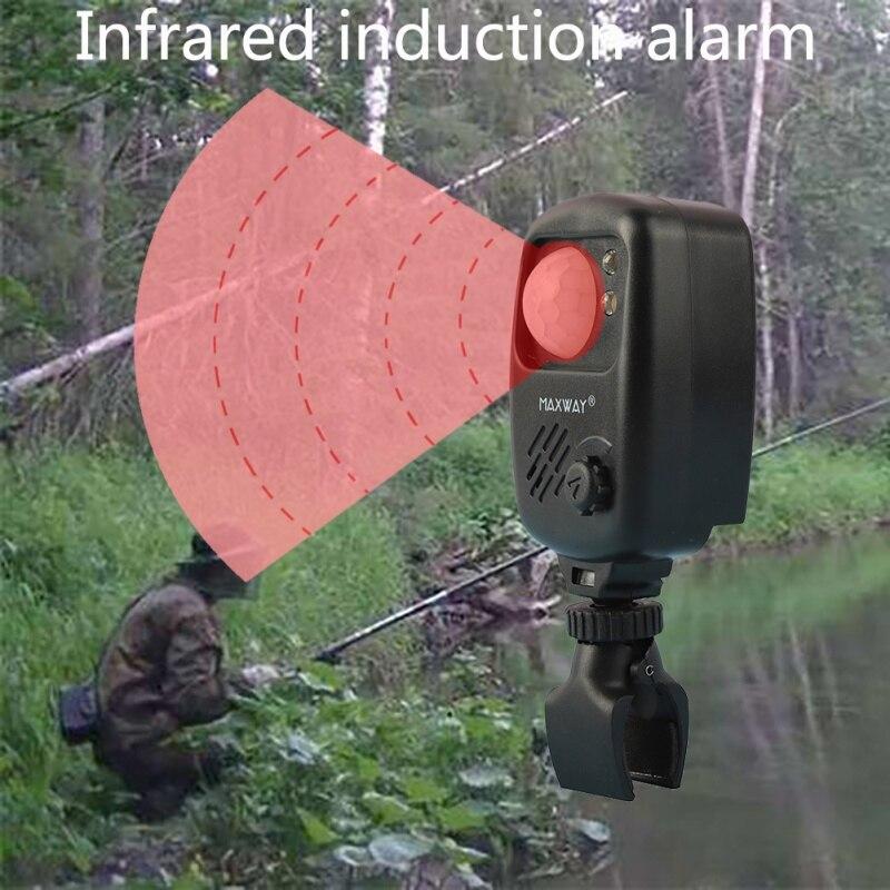 NewFishing Infrared Sensor Alarm Sound Alarm Wireless Motion Detector Bite Alarms Carp Fishing Alert For Fishing Camping Hunting