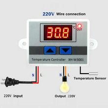 Thermostat numérique 220V 10A, contrôleur de température, interrupteur de commande, sonde, Thermostat-50 ~ 110 ℃ WY