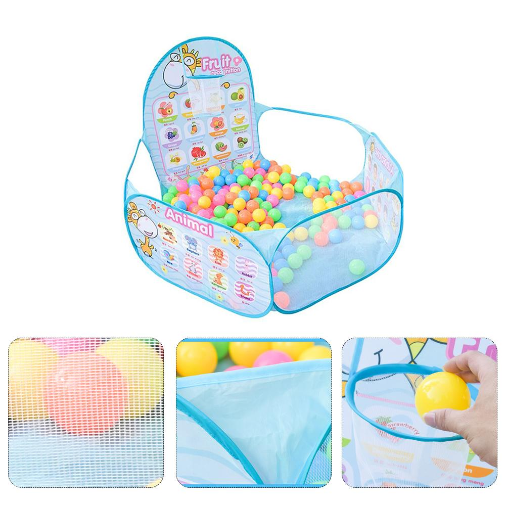 Animal Early Education Cartoon Deer Shooting Ocean Ball Pool Toy Foldable Children Tent Game House