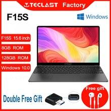 Новейший ноутбук F15S 15,6 дюймов Windows 10 ноутбук 1920x1080 Intel Apollo Lake ноутбуки 8 ГБ ОЗУ 128 Гб SSD двойной Wi-Fi HDMI