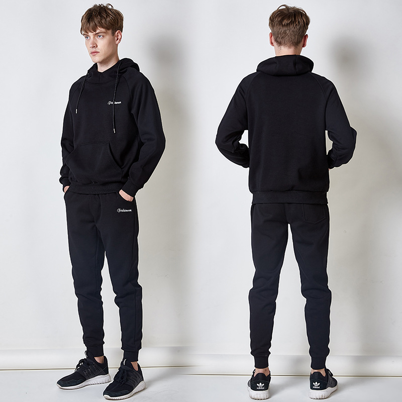 Hoodie Men's Hooded Pullover Leisure Suit Korean-style Occident Fashion MEN'S Sport Suit Sweater