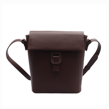 Women Messenger Bag Bucket Fashion Youth Shoulder Bag Waterproof Female Faux Leather Bag Wild Green Easy To Clean faux leather 3 pieces bucket bag set