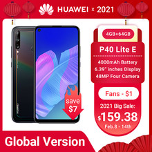Global Huawei P40 Lite E Smartphone Nfc Versie 4 + 64 Gb Triple Camera 48 Mp Ai Camera 6.39