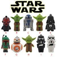 Yoda Darth Vader pendrive Usb 2.0 Usb flash drivdriveck USB Flash Drives