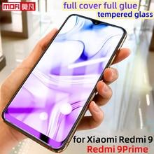 Protecteur décran pour xiaomi redmi 9 prime, en verre trempé, couverture complète, 2.5D HD Mofi, film de protection ultra fin original