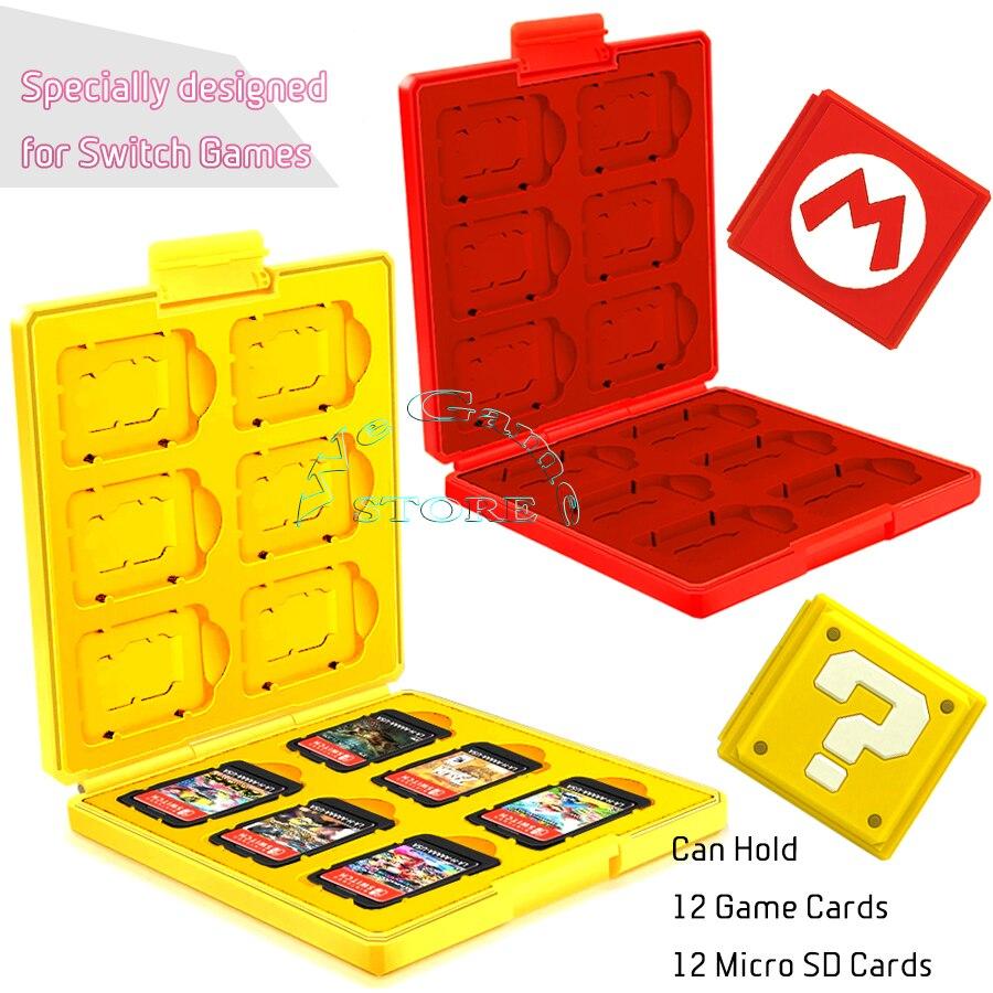 Nintendos переключателя Nintend футляр для игровых карт Poke Ball Твердый защитный чехол для хранения Коробка для Nitendo NintendoSwitch перечисленные