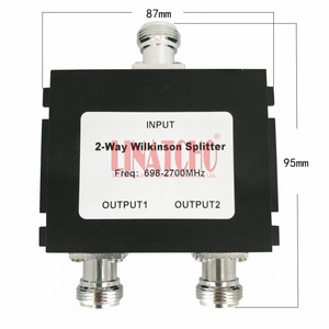 Image 1 - 698 2700mhz GSM 4G LTE W CDMA FDD mobile signal repeater antennas wilkinson splitter 2 way