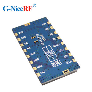 Image 4 - Free Shipping 5pcs/lot RF4432F27 500mW SPI Interface Embedded Anti interference FSK/GFSK/OOK 433MHz RF Module