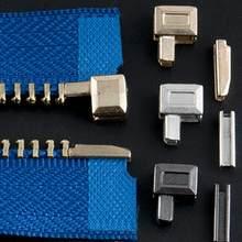 10 Sets Metall Reparatur Zipper Stopper Offene Ende Zipper Nähen Stopper Zubehör Zipper M5T9 DIY Für Kleidung O0C0