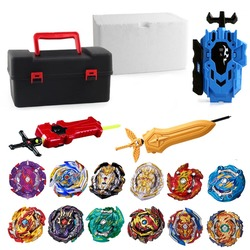 Hauts ensemble lanceurs Beyblade jouets Toupie métal dieu éclatement Toupie Bey lame lames jouet baie lame bables 4862310