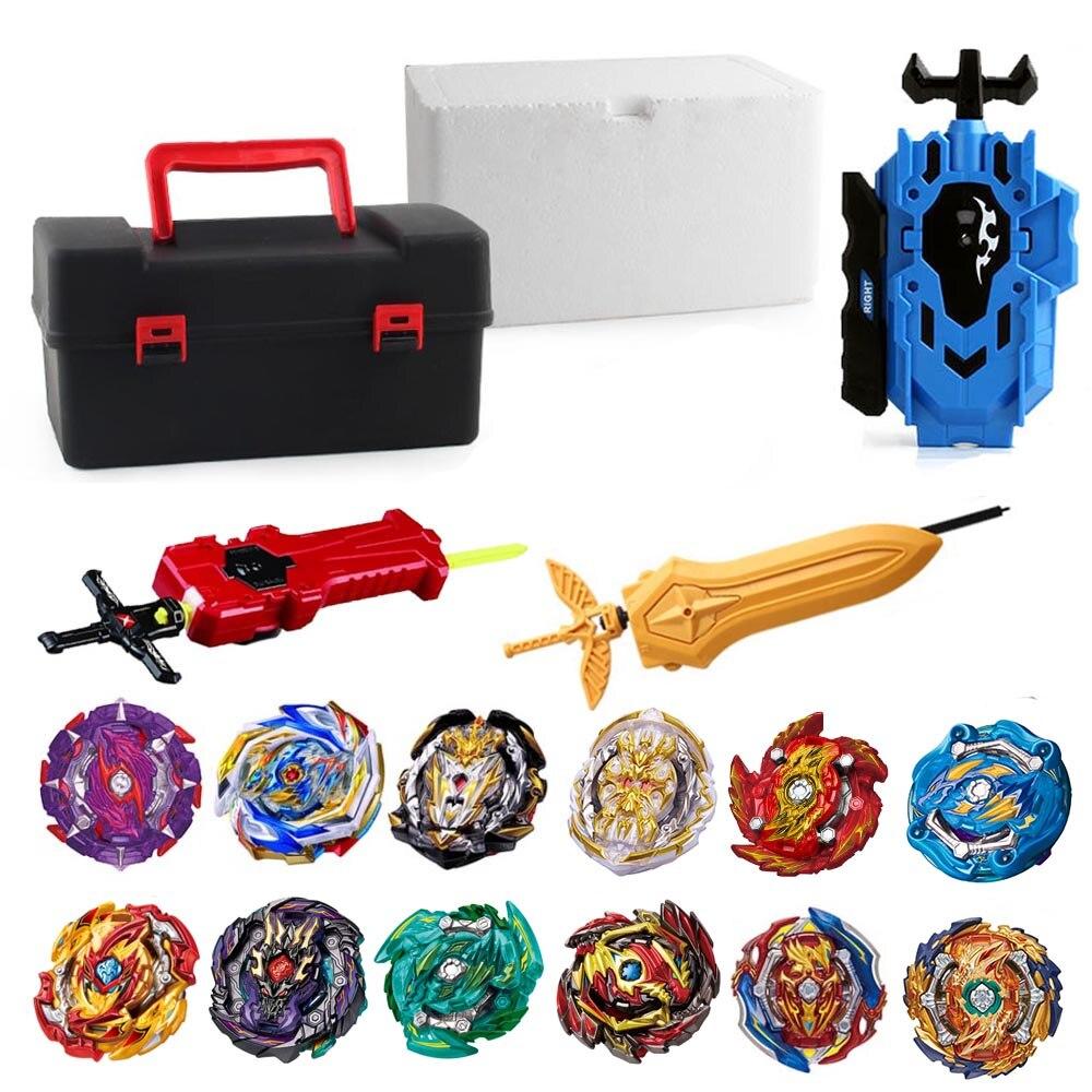 Tops Set Launchers Beyblade Toys Toupie Met…