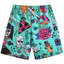 Surfaster Elastic Waist Men Brand Short Swim Shorts Beach Shorts Homme Bermuda Shorts Swimwear Board Shorts for men Trunks