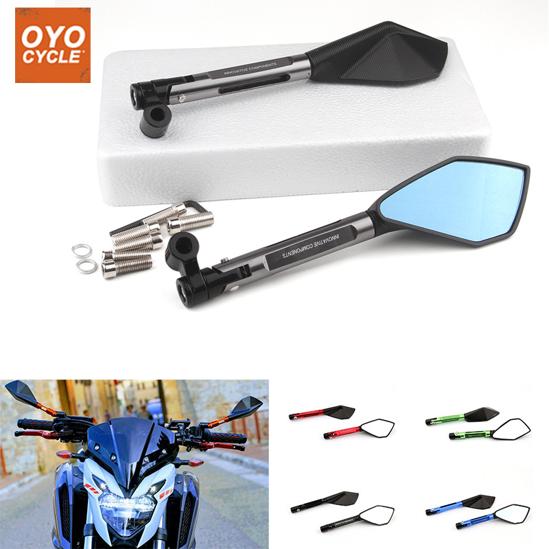 Motorcycle Cnc Aluminum Rear View Mirror Side Mirror Modification Accessories For Yamaha MT07 MT09 Sports Car Rizoma Motorcycle