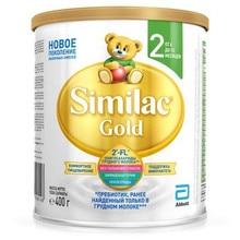 Сухая молочная смесь Similac Gold 2 для детей c 6 до 12 мес. 400г