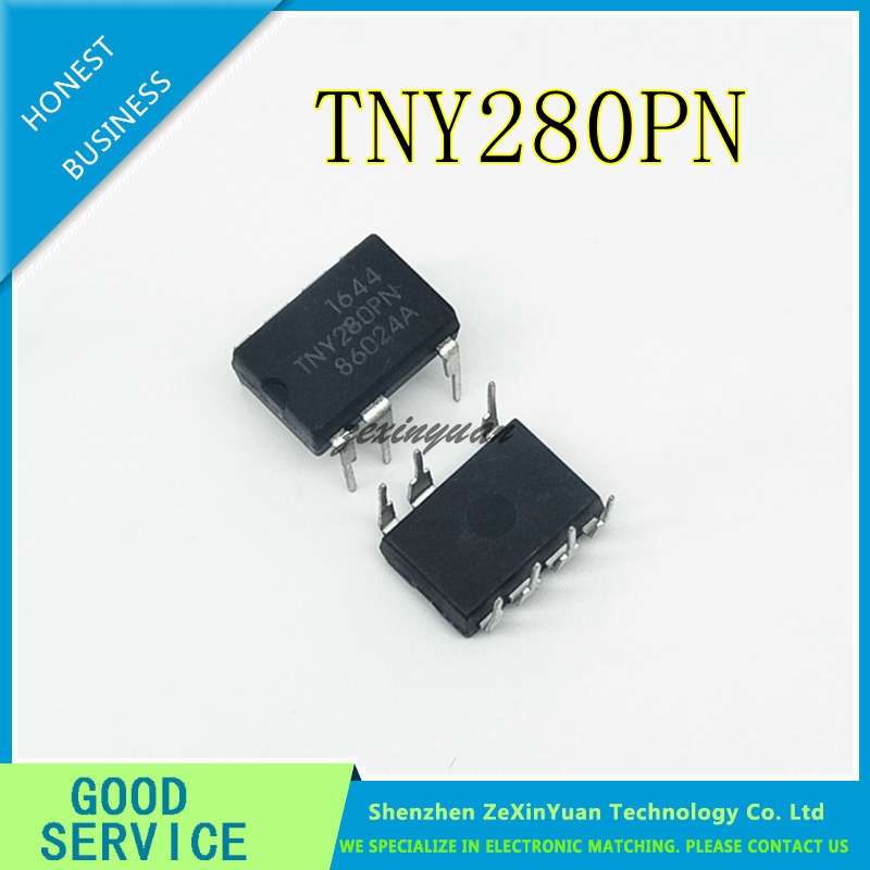 30PCS/LOT TNY280PN TNY280P TNY280 DIP-7 New Original In Stock