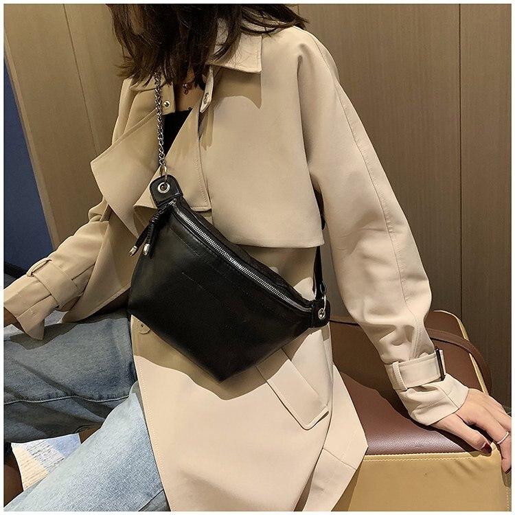 2019 New Style Fashion Wallet Super Fire Multi-Back Method Casual Dumpling Bag Hipster Versatile Chest Pack WOMEN'S Bag Bag