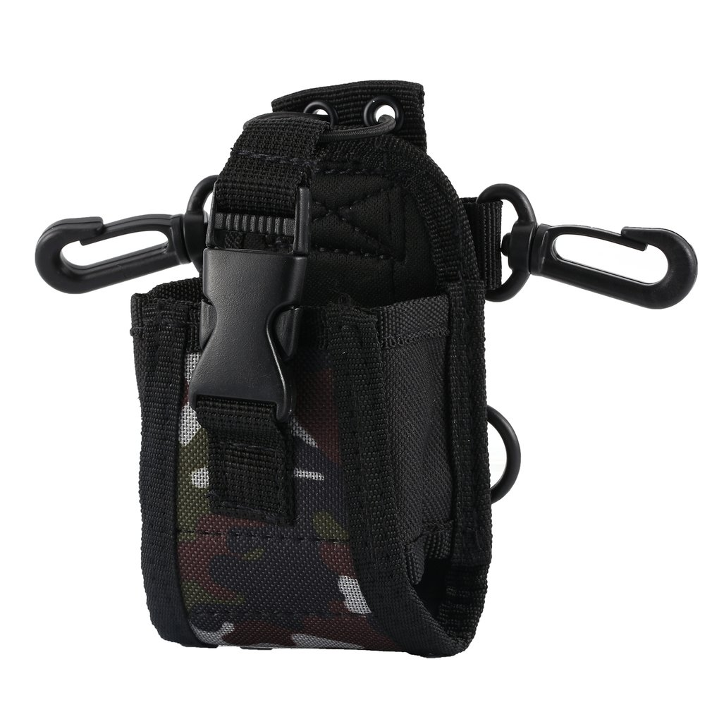 Nylon Multi-functional Case Holster Pouch For Baofeng TYT For Wouxun Kenwood For Motorola Icom Walkie Talkie
