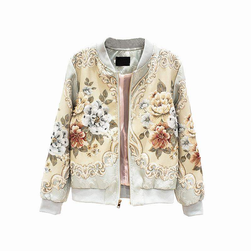 Svoryxiu Designer Custom Made autunno inverno capispalla giacche da donna Vintage linea oro perline Jacquard top di lusso giacche da cappotto 1