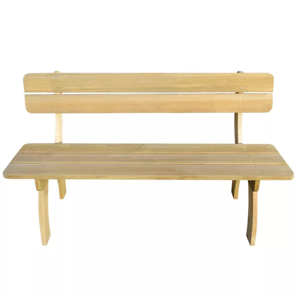 vidaXL Garden Bench 150cm FSC Impregnated Pinewood Patio Benches