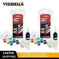 Viseblla 2 шт кожаный Ремонтный комплект для дивана кожаные куртки простыни для одежды отверстия для тепла жидкая кожа винил наборы ручных инст...