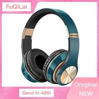 Auriculares inalámbricos HIFI 3D, cascos con Bluetooth estéreo, plegables, con micrófono, tarjeta TF, reducción de ruido