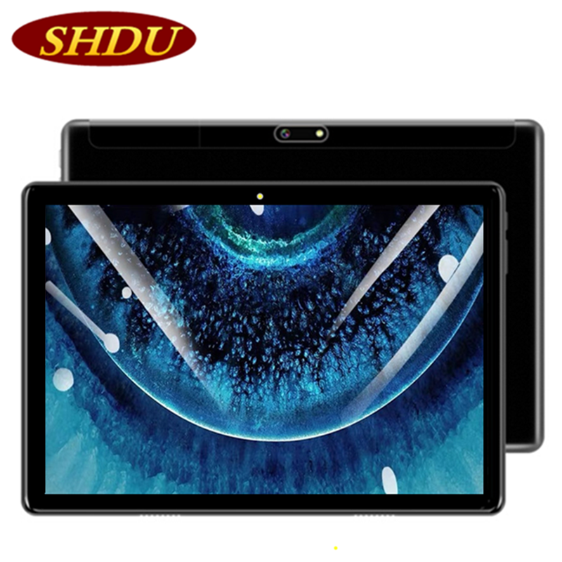 SHDU 2020 2.5D Screen 10.1 Inch Tablet PC Android 7.0 OS Quad Core 2GB RAM 32GB ROM Wifi GPS Android Tablets With Free Gift