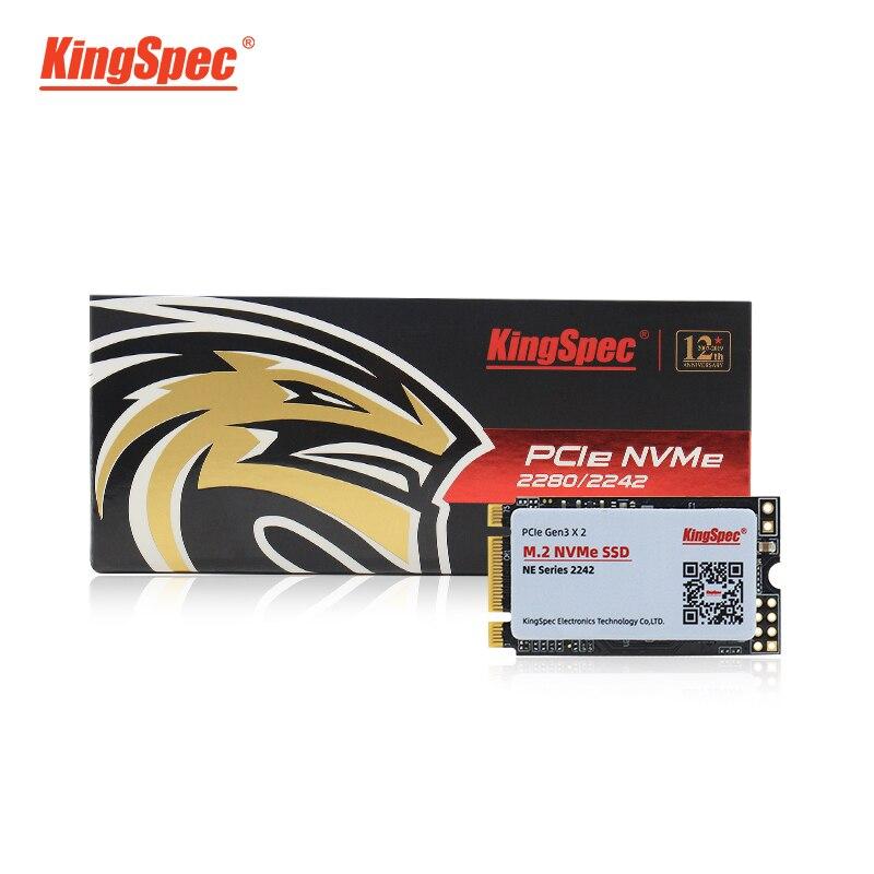 Kingspec M.2 SSD PCIe 128 ГБ 256 ГБ 22*42 мм жесткий диск m2 pcie NVMe внутренний жесткий диск для T480/T470P/T580/L570/P52S/X280/T570