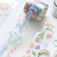 8pcs/lot ganmengxiang series creative cartoon decorative PET tape