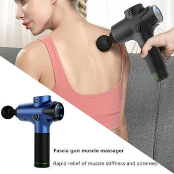 Electric Muscle-Massage Deep Tissue Massager Training Exercising Device LCD Touch Display Power with Removable Battery