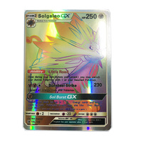 Takara Tomy 30PCS Pokemon Card Combat Flash Shining Cards Pokemon Sun Moon GX