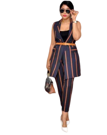 2019 New Arrival Summer Elegent African Women Beauty Plus Size Two Pieces Sets Top And Pant